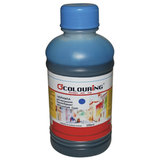 Чернила COLOURING для CANON /EPSON /HP /LEXMARK универсальные, голубые, 0,25 л, водные, 5180000084
