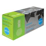 Картридж лазерный HP (Q2671A) ColorLaserJet 3500/3550/3700, голубой, ресурс 4000 стр., CACTUS, совместимый, CS-Q2671A(R)