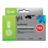 Картридж струйный CACTUS (CS-PFI102C) для CANON iPF500/510/F600/605/650/700, голубой, 130 мл