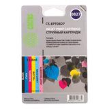 Картридж струйный CACTUS (CS-EPT0827) для EPSON Stylus Photo R270/290/295/390, комплект 6 цветов