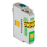 Картридж струйный EPSON (EPT1714) Expression Home XP-33/103/203/207/303, желтый, CACTUS совместимый, CS-EPT1714