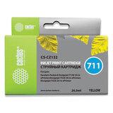 Картридж струйный CACTUS (CS-CZ132) для плоттеров HP DesignJet T120/T520, желтый