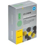 Картридж струйный CACTUS (CS-C4848A) для HP DesignJet 1050C/1055CM, желтый