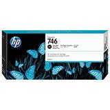 Картридж струйный для плоттера HP (P2V82A) DesignJet Z6, Z9+, 300 мл, черный фото, оригинальный