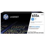 Картридж лазерный HP (CF451A) Color LJ M652dn/M653dn/M681dh, голубой, ресурс 10500 стр, оригинальный