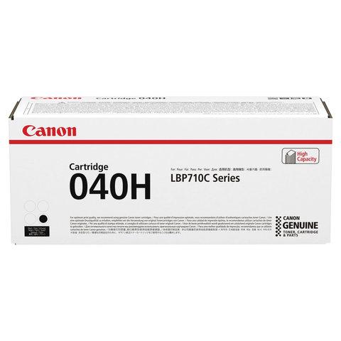 Картридж лазерный CANON (040H) i-SENSYS LBP710CX / 712CX, черный, ресурс 12500 страниц, оригинальный, 0461C001