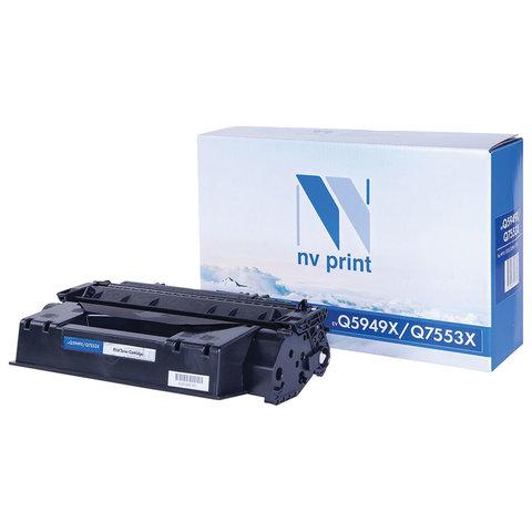 Картридж лазерный NV PRINT (NV-Q5949X/Q7553X) для HP LJ 1320tn/3390/P2014/P2015, ресурс 7000 страниц, NV-Q5949X/7553X