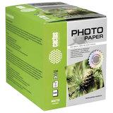 Фотобумага для струйной печати 10x15см, 230 г/м<sup>2</sup>, 500 листов, односторонняя матовая, CACTUS, CS-MA6230500
