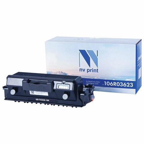 Тонер-картридж лазерный NV PRINT (NV-106R03623) для XEROX WC 3335/3345/P3330, ресурс 15000 страниц