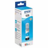 Чернила EPSON (C13T00R240) для СНПЧ L7160/L7180, голубой, оригинальные, ресурс 5000 страниц