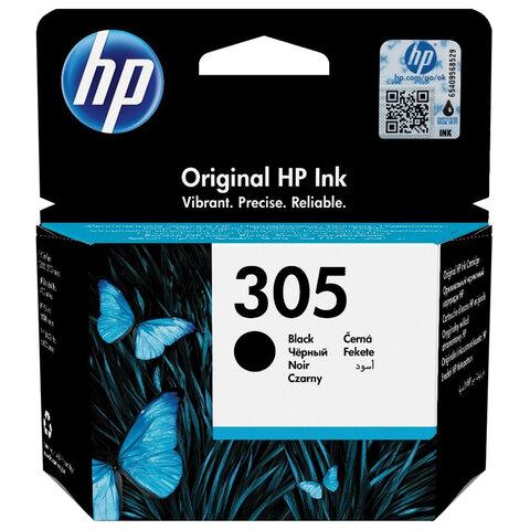 Картридж струйный HP (3YM61AE) 305 для HP DJ 2320/2720/4120, черный, оригинальный, ресурс 120 страниц