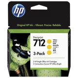 Картридж струйный для плоттера HP (3ED79A) для DesignJet T230 /T250 /T630 /T650, желтый, 3 шт., оригинальный