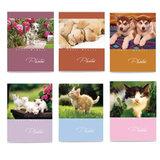 Фотоальбом BRAUBERG на 36 фото 10х15 см, мягкая обложка, котята/щенки, ассорти, 390650