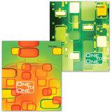 """Тетрадь 96 л. BRAUBERG ЭКО, клетка, обложка мелованный картон, """"Для единственной"""", 2 вида, 401291"""