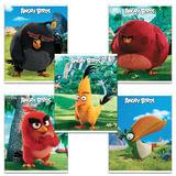"""Тетрадь """"ANGRY BIRDS"""" - (MOVIE), 48 л., клетка, обложка мелованный картон, HATBER, 48Т5В1, T214145"""