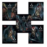 """Тетрадь 96 л., HATBER, клетка, обложка мелованный картон, """"Assassin's Creed"""", 96Т5В1, T224359"""