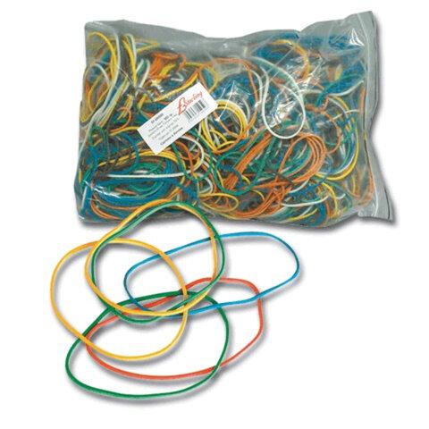 Резинки для денег STERLING цветные, натуральный каучук, 100 г