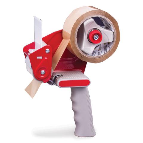 Диспенсер для клейкой упаковочной ленты BRAUBERG (БРАУБЕРГ), для ленты шириной до 50 мм, 440044