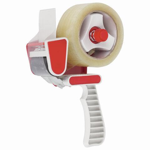 Диспенсер для клейкой упаковочной ленты шириной до 50 мм, пластик, STAFF