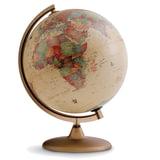 """Глобус античный TECNODIDATTICA """"Discovery"""" (Италия), диаметр 300 мм, с подсветкой, 0330DIRS0DI1G04"""