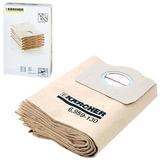 Мешки для сбора пыли KARCHER (КЕРХЕР), комплект 5 шт., бумажные, для пылесосов SE4/WD3, 6.959-130.0