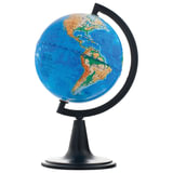 Глобус физический, диаметр 120 мм (Россия), 10001