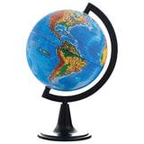 Глобус физический, диаметр 150 мм (Россия), 10003