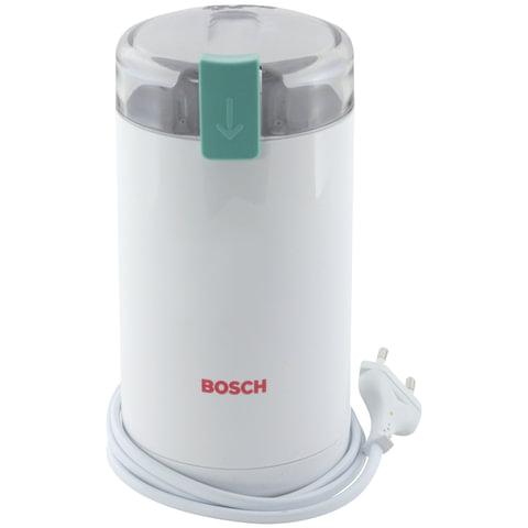 Кофемолка BOSCH MKM6000, мощность 180 Вт, вместимость 75 г, пластик, белая