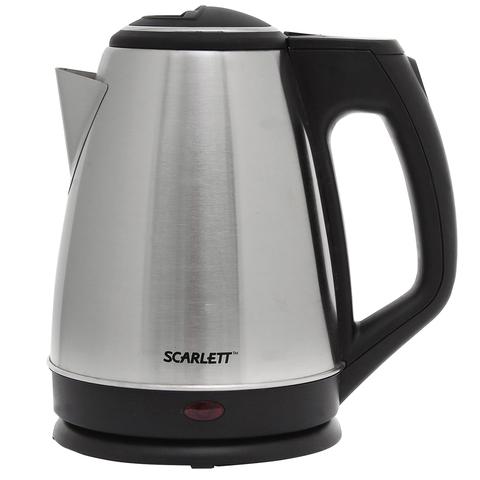 Чайник SCARLETT SC-EK21S25, 1,5 л, 1350 Вт, закрытый нагревательный элемент, сталь, SC - EK21S25