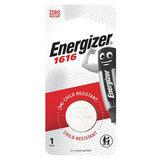 Батарейка ENERGIZER CR 1616, литиевая, d=16 мм, h=1,6 мм, в блистере (1 шт.), 3 В, 7638900019773