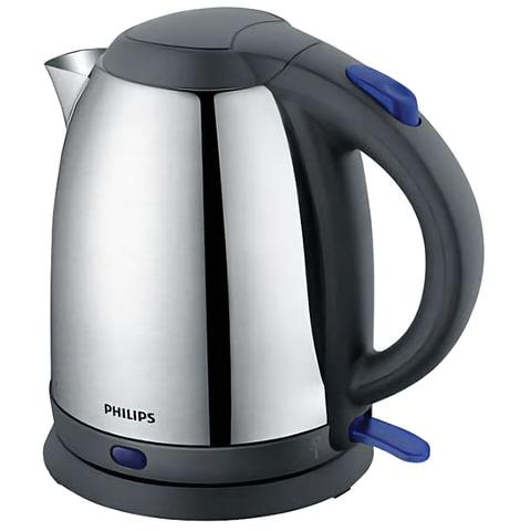Чайник PHILIPS HD9306/02, 1,5 л, 1800 Вт, закрытый нагревательный элемент, сталь