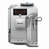 Кофемашина BOSCH TES80721RW, 1600 Вт, объем 2,4 л, емкость для зерен 300 г, автокапучинатор, серая