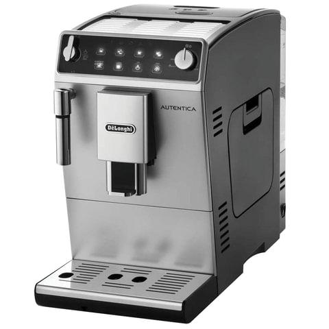 Кофемашина DELONGHI ETAM 29.510.SB, 1450 Вт, объем 1,4 л, емкость для зерен 200 г, ручной капучинатор, серебристая, ETAM29.510.SB