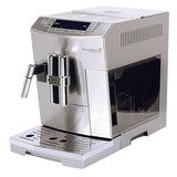 Кофемашина DELONGHI ECAM 28.464.M, 1450 Вт, объем 2,0 л, емкость для зерен 250 г, автоматический капучинатор, серебристая, ECAM28.464.M