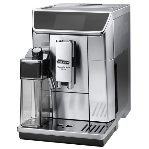 Кофемашина DELONGHI ECAM 650.75.MS, 1350 Вт, объем 2,0 л, емкость для зерен 400 г, автоматический капучинатор, серебристая, ECAM650.75.MS