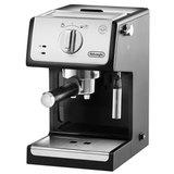 Кофеварка рожковая DELONGHI ECP 33.21/BK, 1100 Вт, объем 1 л, ручной капучинатор, серая, ECP33.21/BK