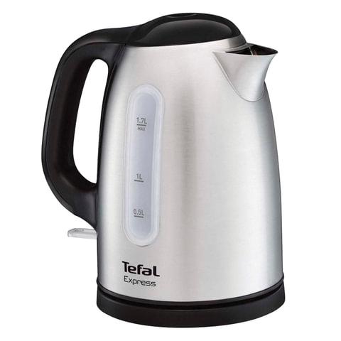 Чайник TEFAL KI230D30, 1,7 л, 2400 Вт, закрытый нагревательный элемент, нержавеющая сталь, серебристый