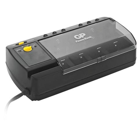 Зарядное устройство GP PB320, для 4-х аккумуляторов AA, AAA, С, D или 2-х аккумуляторов
