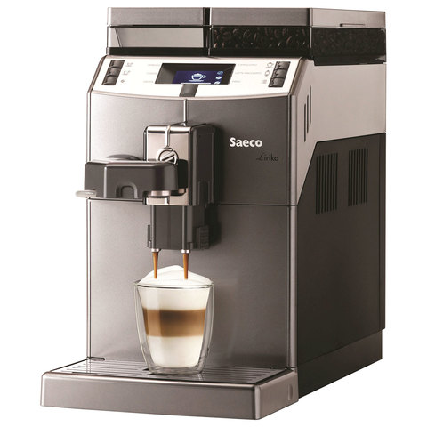 Кофемашина SAECO LIRIKA Cappuccino,1850 Вт, объем 2,5 л, емкость для зерен 500 г, автокапучинатор, серебристый, 10004768