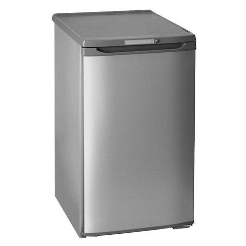 Холодильник БИРЮСА М108, однокамерный, объем 115 л, морозильная камера 27 л, серебро, Б-M108