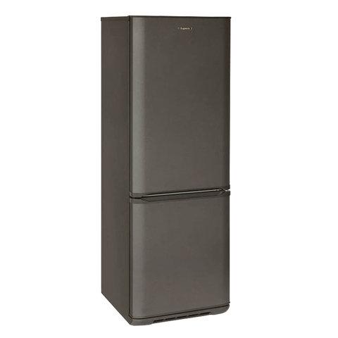 Холодильник БИРЮСА W134, двухкамерный, объем 295 л, нижняя морозильная камера 85 л, матовый графит, Б-W134