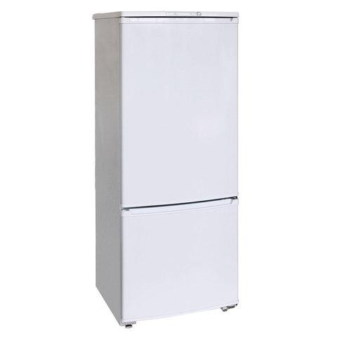 Холодильник БИРЮСА 151, двухкамерный, объем 240 л, нижняя морозильная камера 60 л, белый, Б-151