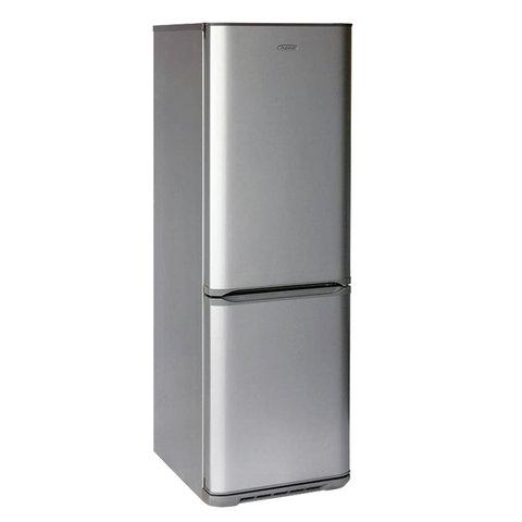Холодильник БИРЮСА M133, двухкамерный, объем 310 л, нижняя морозильная камера 100 л, серебро, Б-M133