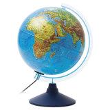 """Глобус физический GLOBEN """"Классик Евро"""", диаметр 250 мм, с подсветкой, Ке012500189"""
