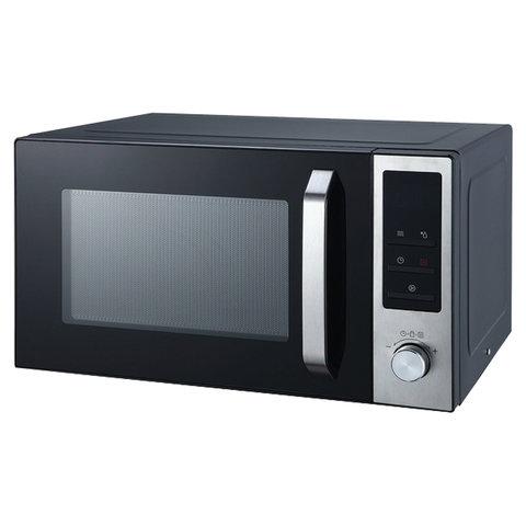 Микроволновая печь HORIZONT 23MW 800-1379S, объем 23 л, мощность 800 Вт, электронное управление, черная