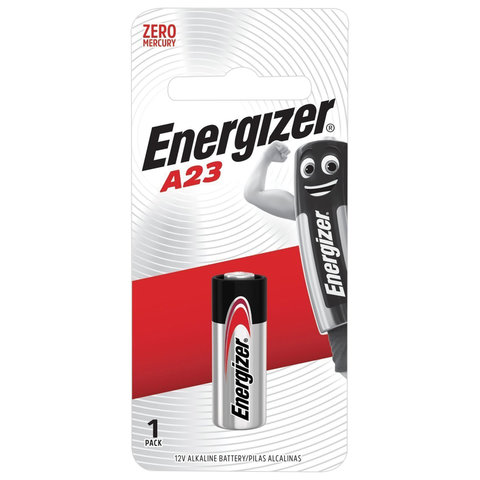 Батарейка ENERGIZER, A23 (23АЕ), алкалиновая, для сигнализаций, 1 шт., в блистере, 639315