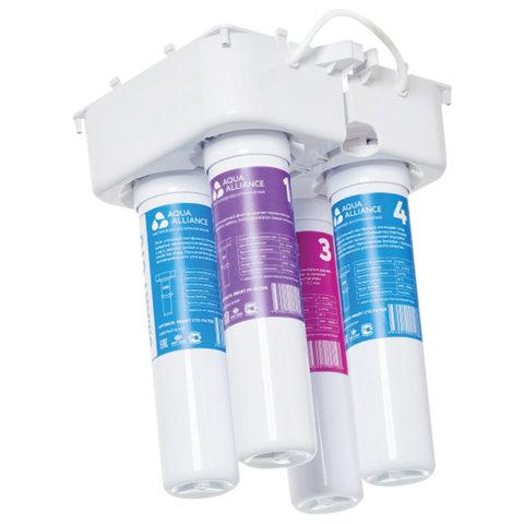 Фильтры для пурифайера AEL SMART Aqua Alliance КОМПЛЕКТ 4 шт., 12 дюймов, ресурс 3500 л, 70252