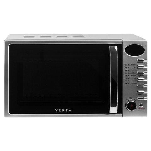 Микроволновая печь VEKTA TS720ATS, объем 20 л, мощнось 700 Вт, электронное управление, таймер, серебро, MCO00053728