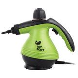 Пароочиститель KITFORT KT-906, 1200 Вт, 3 бара, объем 0,3 л, зеленый