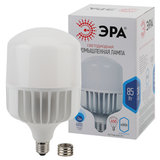 Лампа светодиодная ЭРА, 85 (650) Вт, цоколи E40/E27, колокол, нейтральный белый, Т140-85W-4000-E27/E40